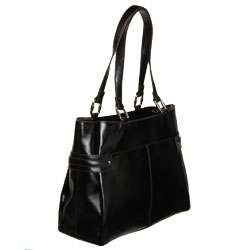 Etienne Aigner Regal Large Leather Tote Bag