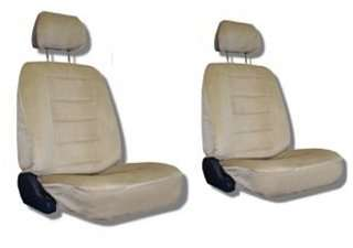 Tan Car Auto Truck Seat Covers w/ Head rest Covers SCC11