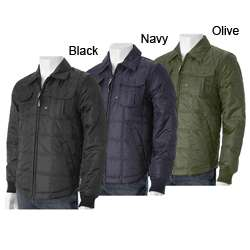 Alexander Julian Mens Quilted Jacket
