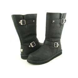 UGG Australia Womens Black Kensington Winter Boots (Size 6
