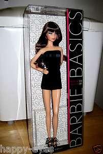 BARBIE BASICS BLACK LABEL MODEL #03 COLL. 001* NEW IN BOX* DOLL