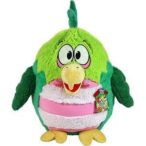Jay at Play Kookoo Bird, Green Bird Bedding