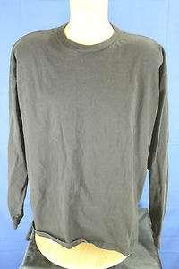 Foot Locker Black Basic Long Sleeve T shirt Sz 2XL