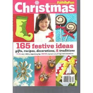 Disney Family Fun Magazine (Christmas, December,2010) Various