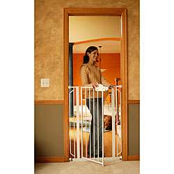 Regalo Easy Step Extra tall Metal Walk thru Gate  Overstock