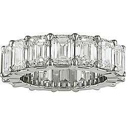 Platinum 8ct TDW Diamond Full Eternity Band (E F, VS)