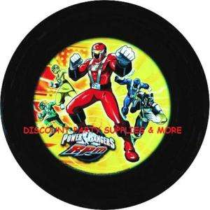 Power Rangers RPM Kids Plastic Lunch Dinner Snack Plate