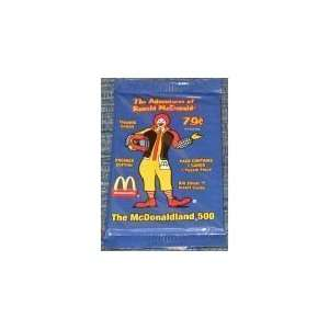 of Ronald McDonald Trading Cards Pack (7 cards/pack) Toys & Games