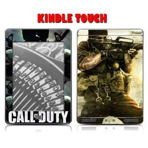 Kindle Touch Skins Kit   Call of Duty Black OPS COD #2 Modern