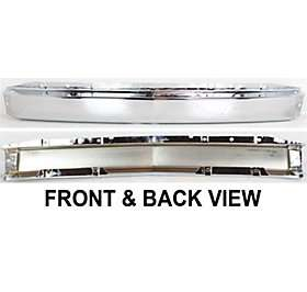 15941850 Bumper Reinforcement New Chrome Front Chevy Truck Silverado