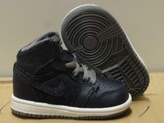 Nike Air Jordan 1 Phat Blue White Grey Sneakers Infant Toddler Size 8