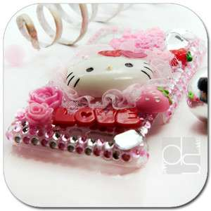 Bling Crystal Hard Back Skin Case Cover For AT&T HTC Inspire 4G