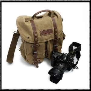DSLR SLR Camera Shoulder Bags Backpack Canon EOS Medium