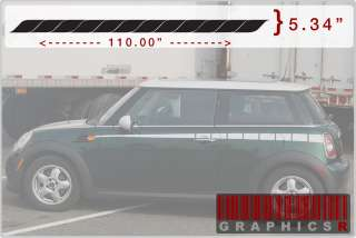 Stripe Racing Style Auto Car Truck SUV Body Graphic SS Style