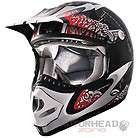 Motorcycle ATV Offroad Dirt Bike Mx Helmet XLarge Black Kimpex CKX TX