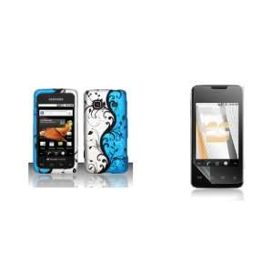 Samsung Galaxy Prevail (Boost Mobile) Premium Combo Pack   Black Vines