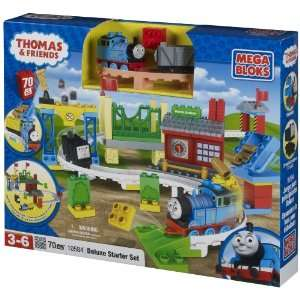 Thomas Friends Mega Bloks Set #10584 Deluxe Starter Set Toys & Games