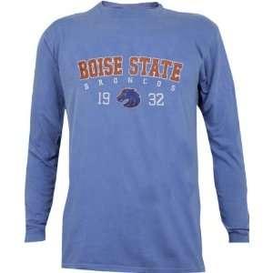 Boise State Broncos Pigment Dye Long Sleeve T Shirt