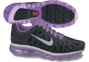 Nike WMNS Air Max+ 2011 Black/Bright Violet Sz 7  10