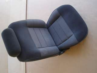 1993 MUSTANG BLACK CLOTH PASSENGER SIDE SEAT