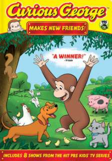 Curious George Curious George Makes New Friends (DVD)