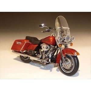 2011 Harley Davidson FLHRC Road King Sedona Orange 1/12 by