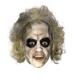 Beetlejuice™ 3/4 Mask With Hair   Costumes & Accessories & Masks