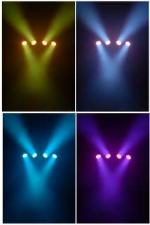 CHAUVET MINI 4BAR LED Pro DJ Stage Wash Light Systems