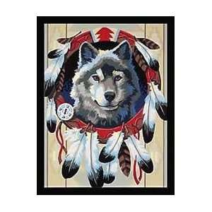 Majestic Wolf (9x12) For Beginners: Arts, Crafts & Sewing