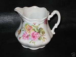 VICTORIAN   THREE CROWN CHINA GERMANY   CREAMER