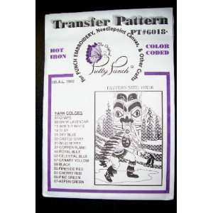 com Hot Iron Transfer Pattern #6018 Native American Dancer (For Punch