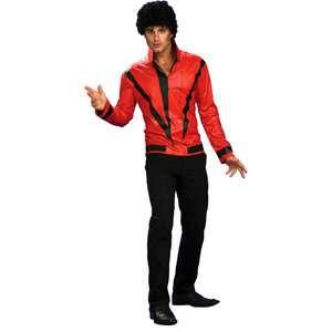 Jackson Red Thriller Jacket Deluxe Adult Halloween Costume Halloween