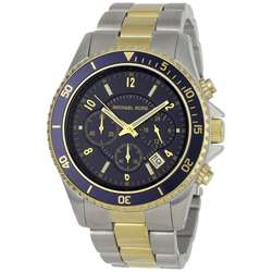 Michael Kors Mens Two tone Steel Chronograph Watch