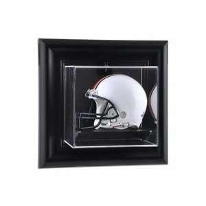 Framed Wall Mounted Mini Football Helmet Display Case