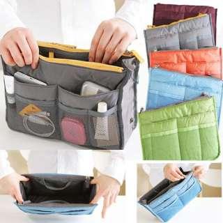 Women Travel Insert Handbag Organiser Purse Large liner Organizer Bag
