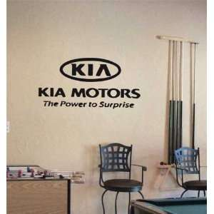 GARAGE WALL KIA MOTORS EMBLEM LOGO DECAL STICKER ART 15