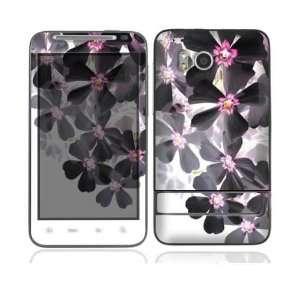 HTC Thunderbolt Skin Decal Sticker   Asian Flower Paint