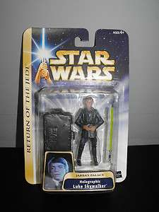 HASBRO STAR WARS   HOLOGRAPHIC LUKE SKYWALKER ACTION FIGURE