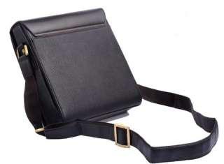 Polo Mens Faux Leather Messenger Bag Briefcase Satchel ACM3