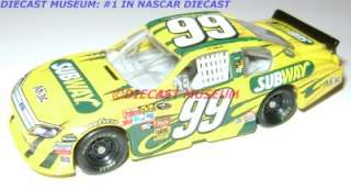 CARL EDWARDS #99 SUBWAY 2011 DIECAST AFLAC 164 ACTION |