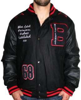 BLAC LABEL Varsity Jacket Mens Embroidered Urban Designer Jacket Shirt