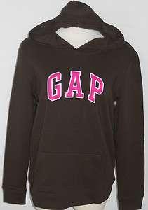 Gap Womens Brown Logo Hoodie Sweatshirt Sizes S XXL