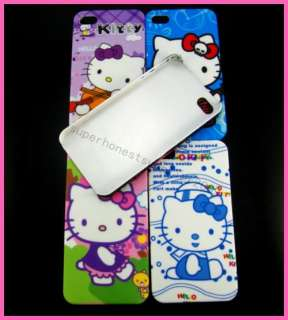 5X Water Print Hello kitty Hard Case Cover for iPhone 4 4G 4S HK35