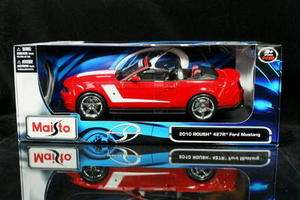 2010 ROUSH 427R Ford Mustang MAISTO Diecast 118 Red