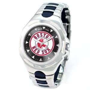 Boston Red Sox  Logo  MLB Mens Silver  Victory Sports
