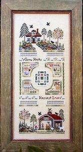 Ravenhill Herb Farm Victoria Sampler Cross Stitch Book
