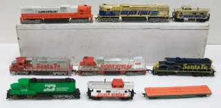 HO Scale Tyco Diesel Engines & Freight Cars (9)