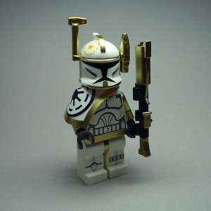 Lego Star Wars Clone Trooper Commander Full Equipment 1