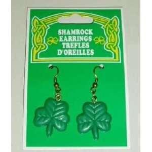 St Patricks Day Irish SHAMROCK EARRINGS Health & Personal