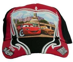 Disney Pixar Cars Lightnining McQueen Baseball Cap Hat